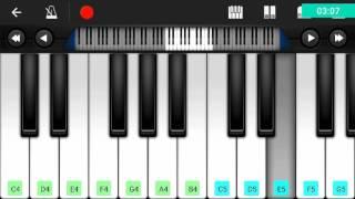 sun zara hindi song piano video