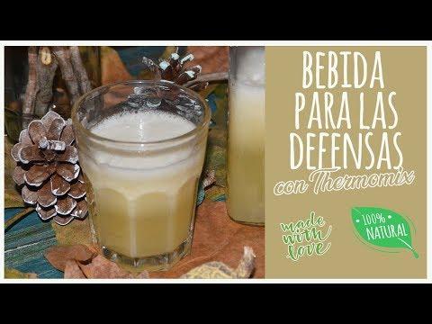 Bebida para las defensas