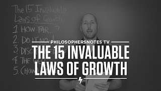 Laws of Personal Growth