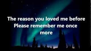 Don't You Remember Lyrics-Reggae Cover by Romain Virgo