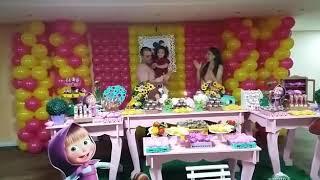 Aniversário Isabely 2 anos Masha e o urso