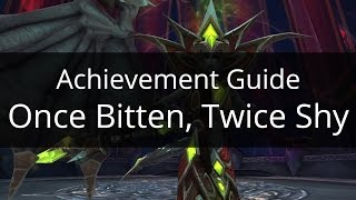Once Bitten, Twice Shy | Icecrown Citadel | Achievement Guide