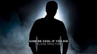 Sure Be Cool If Ya Did Lyrics - Blake Shelton
