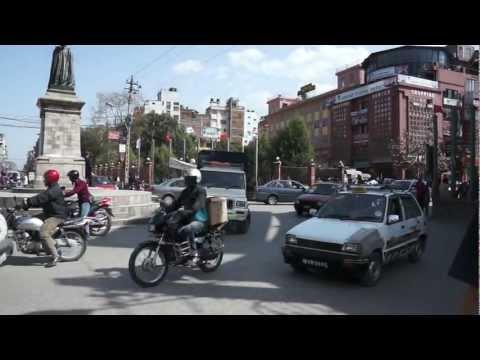Дорожное движение в Непале (Nepalian traffic)