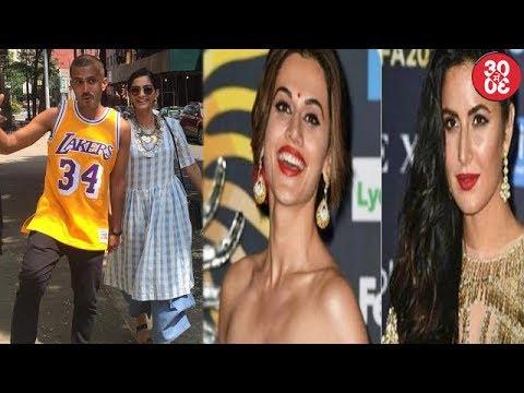 Sonam Kapoor-Anand Ahuja Vacationing In NY | Taapsee To Replace Katrina Kaif