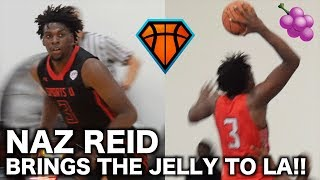 BIG JELLY Naz Reid Shows His Complete DOMINANCE Out In Los Angeles!! | UAA Session 3 Highlights