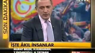 Fatih Altaylı'dan muhabire canlı yayında fırça!