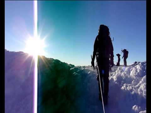 Ecuador. Cotopaxi. Summit approach