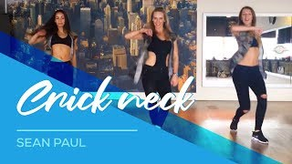 Crick Neck - Sean Paul - Watch on computer/laptop - Easy Fitness Dance Choreography Workout