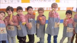 Hino da Fruta 2014/2015, Creche e Jardim de Infância da Casa do Povo de Óbidos, Leiria