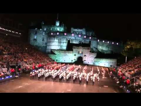 Edinburgh Tattoo August 12, 2011 March out