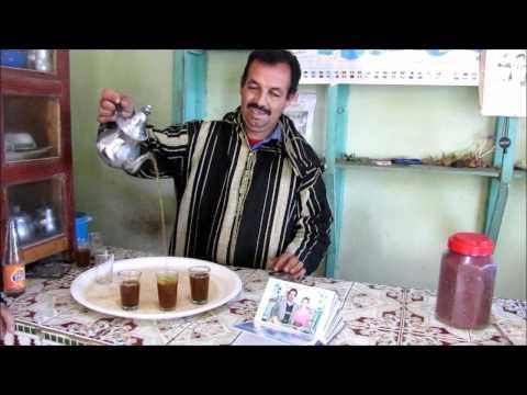 תהליך הפקת תבלין הזעפרן- cafe tinfat safran, taliouine taroudant maroc