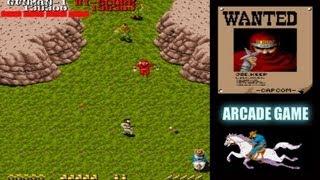 ARCADE game Gun.Smoke ROUND 3