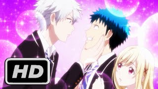 Yamada-kun to 7-nin no Majo Anime CLIP - Forced Kiss HD