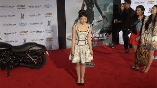"""Piper Curda """"Captain America: The Winter Soldier"""" World Premiere"""