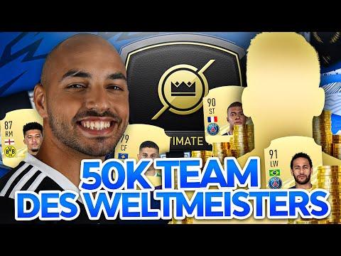 FIFA21-Team für 50k mit dem FIFA-Weltmeister MoAuba