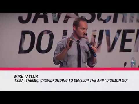 Mike Taylor - Palestra Improviso BrazilJS 2016