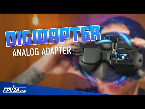DIGIDAPTER Analog Mod Adapter für DJI Digital FPV System   British Drone Industries   FPV24