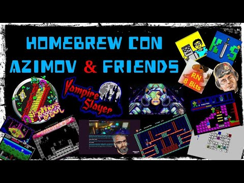Homebrew con Azimov & Friends