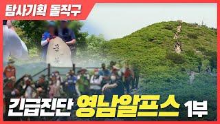 [탐사기획 돌직구] 긴급진단 '영남알프스' 1부 다시보기