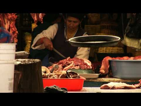 Otavalo – Ecuador – Traditional working