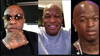 Birdman Says He Removing Face Tattoos & Grill. This Comes After Baby Addressed Ross About Lil Wayne
