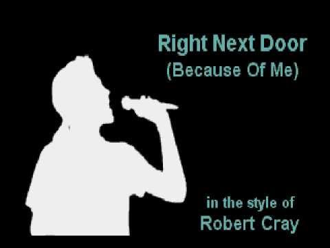 robert-cray-right-next-door-karaoke-instrumental-on-screen-lyrics-darth-max
