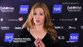 Valentina Monetta's message to the fans (San Marino)