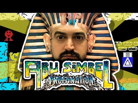 Abu Simbel Profanation (1P) (MSX)