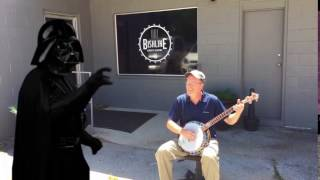 Deleted banjo scene from Star Wars