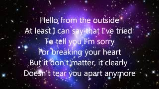 hello-adele/cover alice olivia