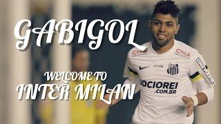 "Gabriel Barbosa ""Gabigol"" - Welcome To Inter Milan | Goals & Skills by Andre_Costa™"
