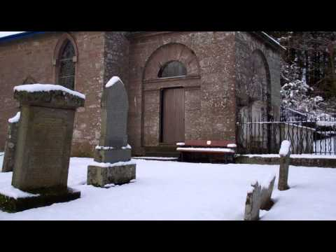 Winter View Parish Church Lundie Angus Scotland