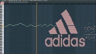 What Adidas Sounds Like - MIDI Art