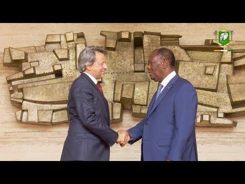 Entretien avec l'Ambassadeur de l'Union Européenne en Côte d'Ivoire, S.E.M. Jobst Kirchmann