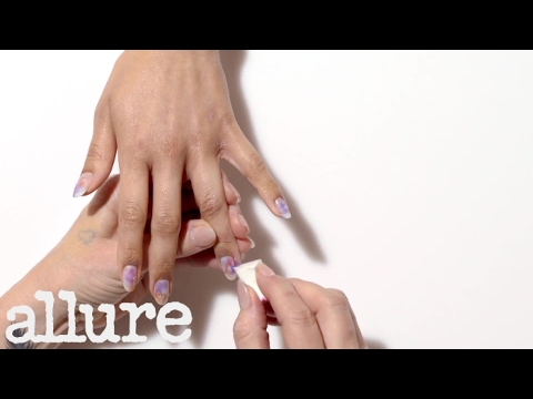 Galaxy Nail Manicure Tutorial in 90 Seconds | Allure