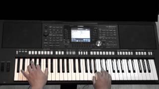 青花瓷--周杰倫(張寶文電子琴演奏)(免費線上鋼琴教學)