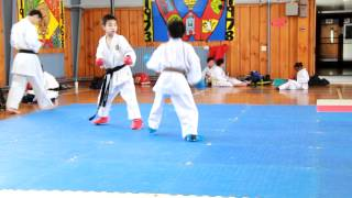 Daniel the karate kid (9 years old) Karate Black Belt Upgrading (INCREDIBLE) (Video 13)