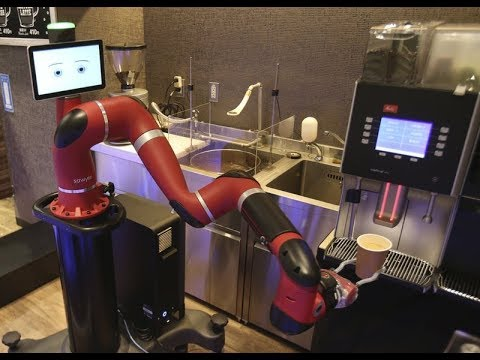 Robots Are Now Baristas & They're Coming For All The Jobs