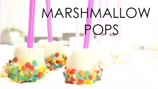 Marshmallow Pops - Tutorial