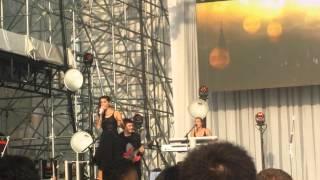 "Christina Perri ""Burning Gold"" live at Pier 97"