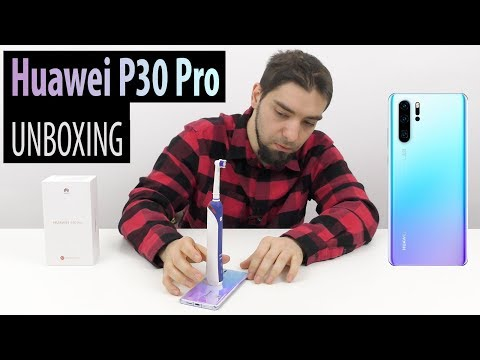 Huawei P30 Pro Unboxing