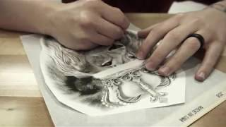 Lion King Tattoo- By Devin Hitt