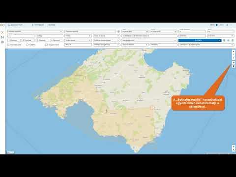 XENA: Keresés a térképen funkció (magyar)