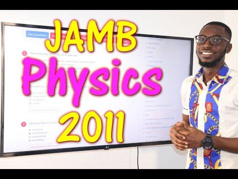 JAMB CBT Physics 2011 Past Questions 1 - 16