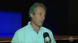 Sinduscon faz vistoria em obra de reconstrução do Teatro Ouro Verde
