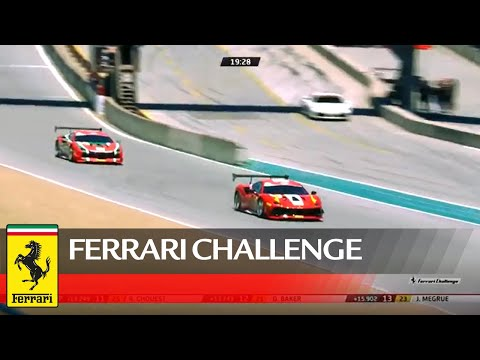 Ferrari Challenge North America - Laguna Seca, Trofeo Pirelli Race 2