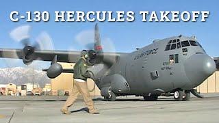 C-130 Hercules Engine Start