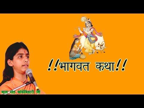 Bhagwat Katha(तीसरा दिन) Part-3 | बाल संत बांकेबिहारी जी | Guru Kripa Aashram,Nettaara Jodhpur