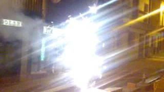 Fuente d luz delante de paco xarango